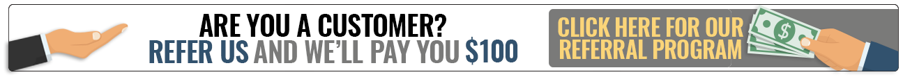 Are you a customer? Refer us and we'll pay you $50. Click here for our referral program.