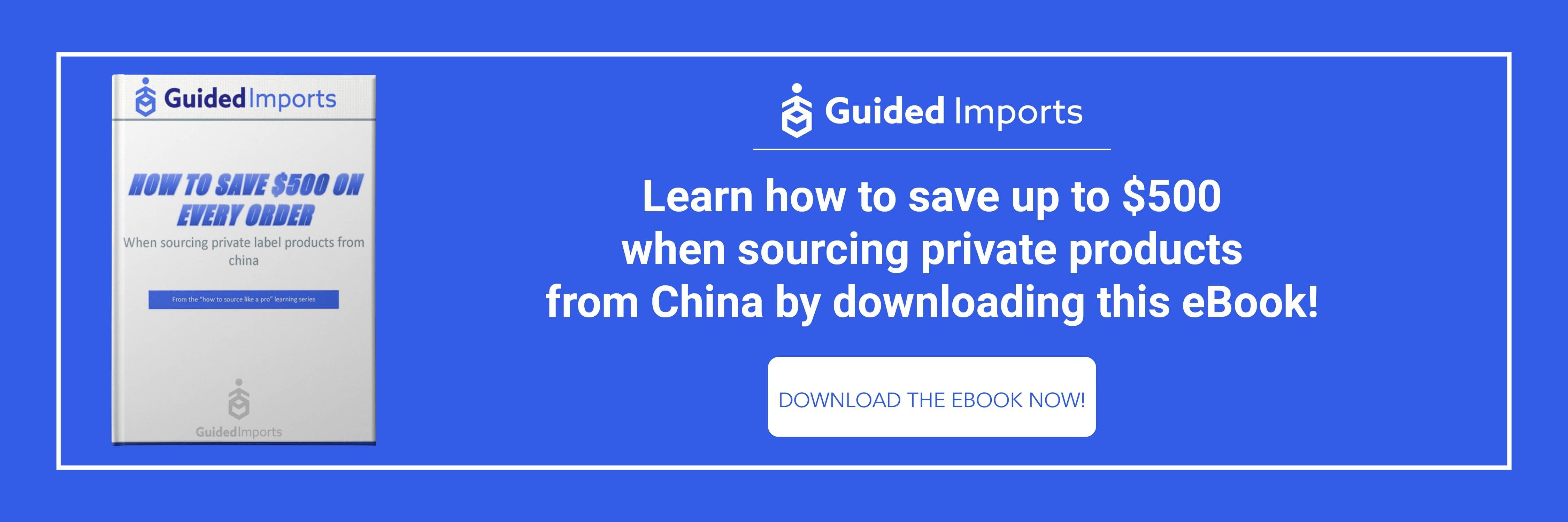 How to Save $500 on Every Order When Sourcing Private Label Products From China