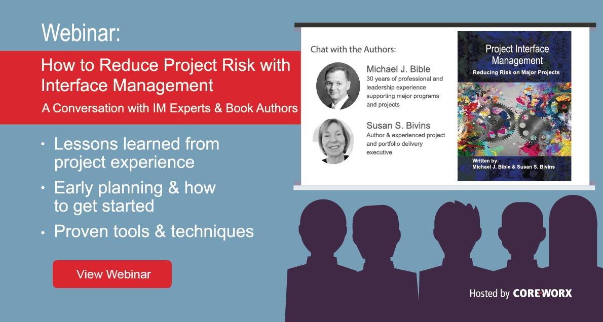 Project Interface Management Book Webinar