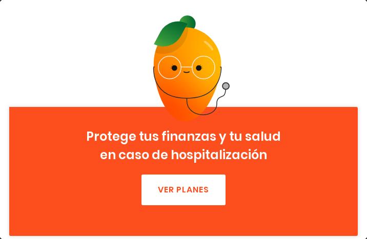 Protege tus finanzas y tu salud en caso de hospitalización Ver planes