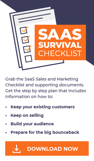 Download the SaaS Sales and Marketing Checklist