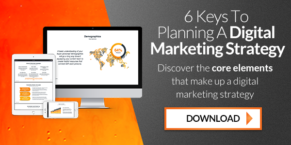 6 Keys To Planning A Digital Marketing Strategy
