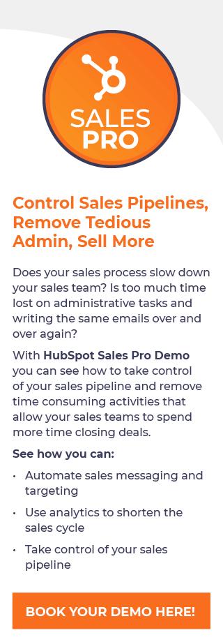 HubSpot Sales Pro Demonstration
