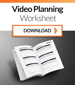 video planning sheet