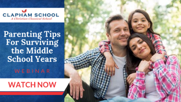 Parenting Tips For Surviving the Middle School Years