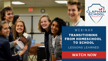 Transitioning from Homeschool to School: Lessons Learned