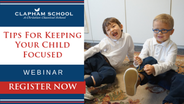 Register Now: Attention, Please! Tips for keeping your child focused