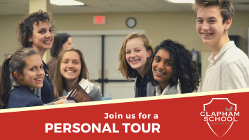 Register Now: Open House | Clapham School