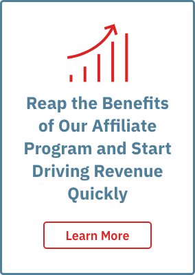 Reap the benefits of our affiliate program