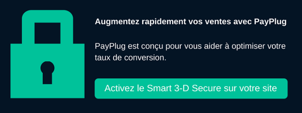 Activez le Smart 3-D Secure