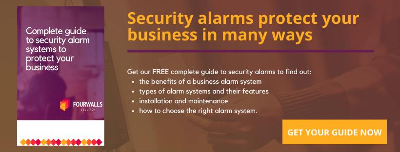 Business security alarms CTA