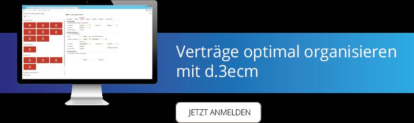 """Im Webinar """"Verträge optimal organisieren"""" werden die Mehrwerte eines elektronischen Vertragsmanagements aufgezeigt."""