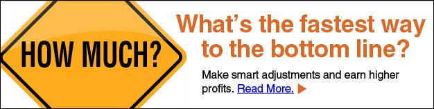 Make smart adjustments and earn higher profits