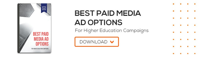 Best Paid Media Ad Options for Higher Education Campaigns