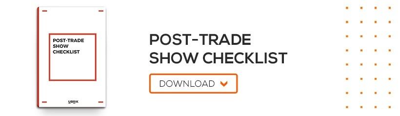 Post-Trade Show Checklist