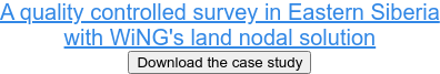 A quality controlled survey in Eastern Siberia with WiNG's land nodal solution Download the case study