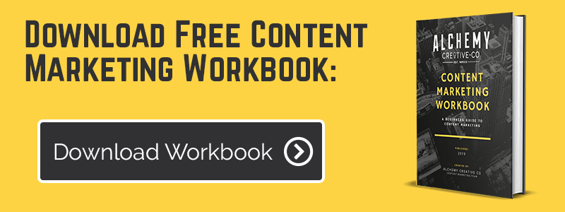 Download our FREE Content Marketing Workbook