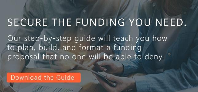 Funding proposal guide
