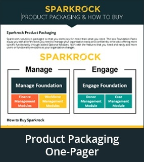 product packaging one pager