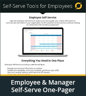 employee and manager self-serve tools