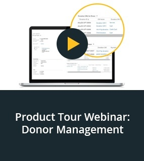 Donor Management webinar