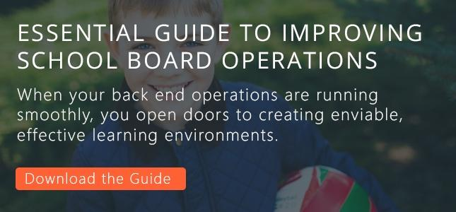 improve school board operations