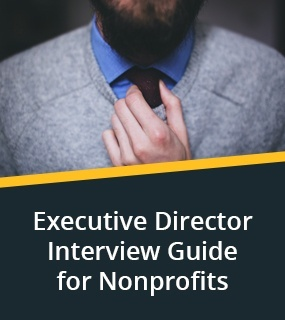 executive director interview guide