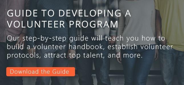 create a volunteer program