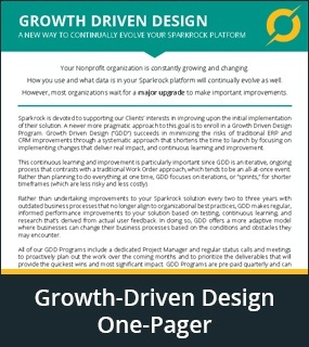 Growth-driven design one pager