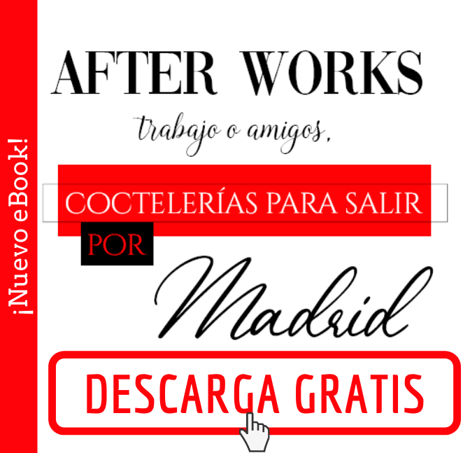 ebook After Works - coctelerias para salir por Madrid