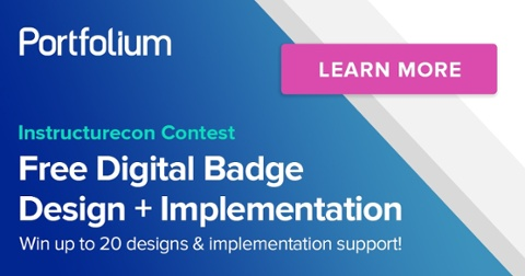 Digital Badge Contest at Instructurecon