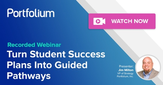 Turn Student Success Plans Into Guided Pathways Webinar