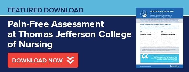 Thomas Jefferson College of Nursing Use Case