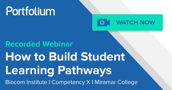 How to Build Student Learning Pathways