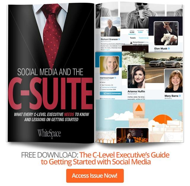 Social Media and the C-suite