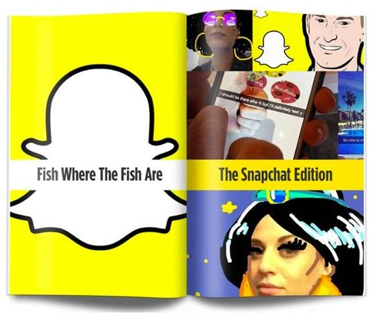 Download Snapchat Flipboard (from blog article)
