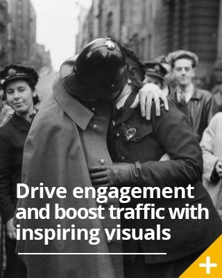 Drive traffic and boost engagement with inspiring visual content