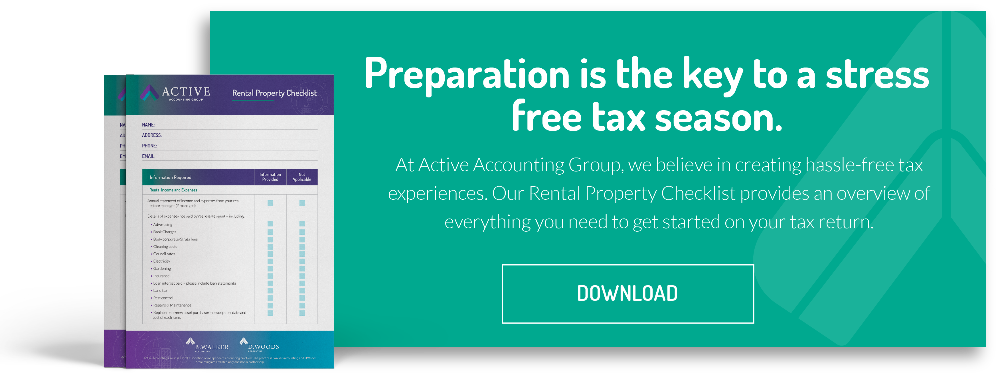 Rental Property Tax Checklist