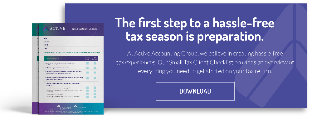 Small Tax Client Checklist