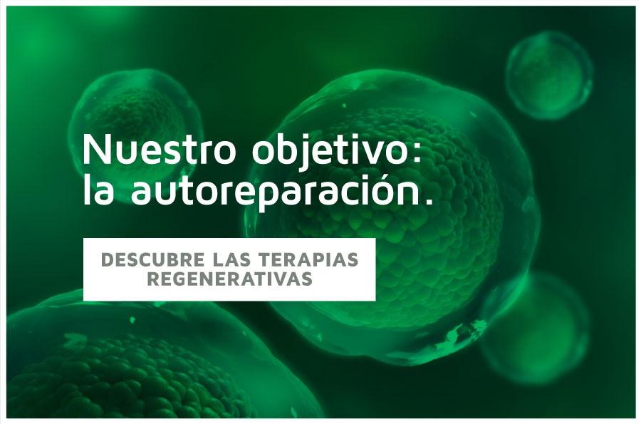 Descubre las terapias regenerativas. Pide cita con nosotros