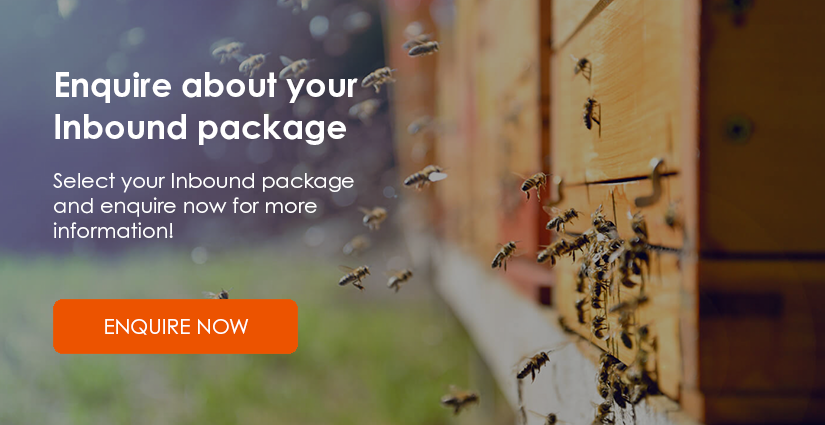 Enquire now about your Inbound Marketing package