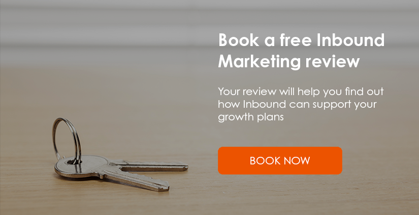 Book your Inbound Marketing review to see how Inbound can support your growth plans