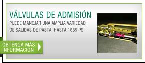 Valvulas de admision