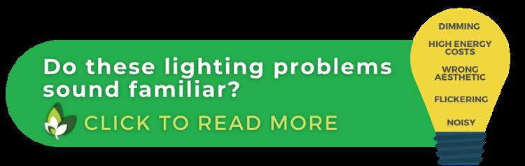 Lighting problems list