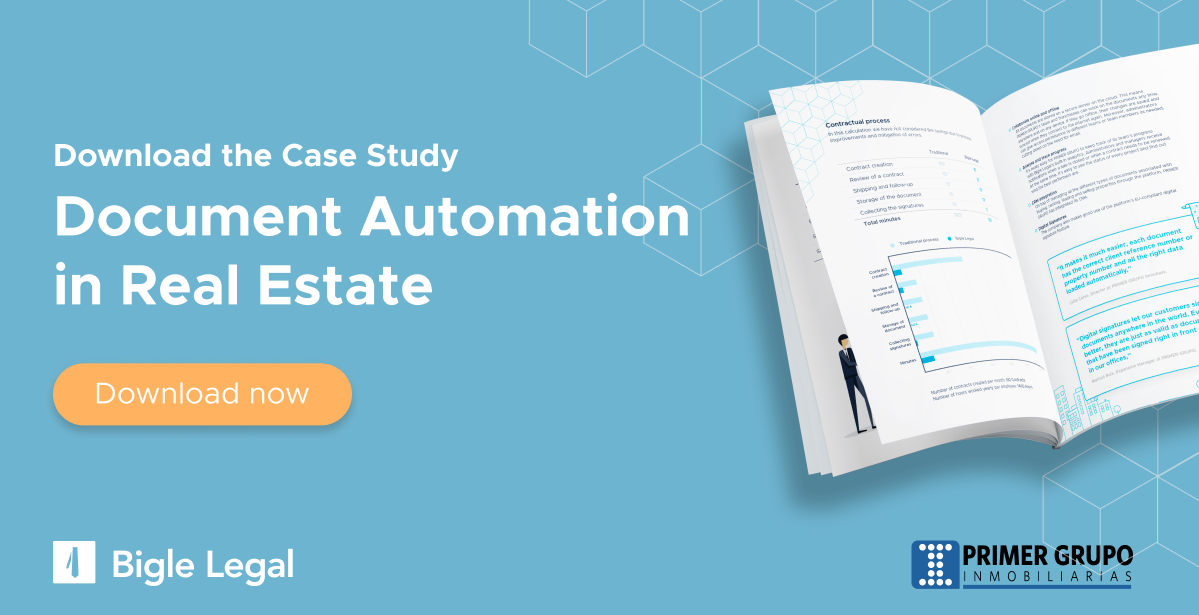 Document automation in real estate