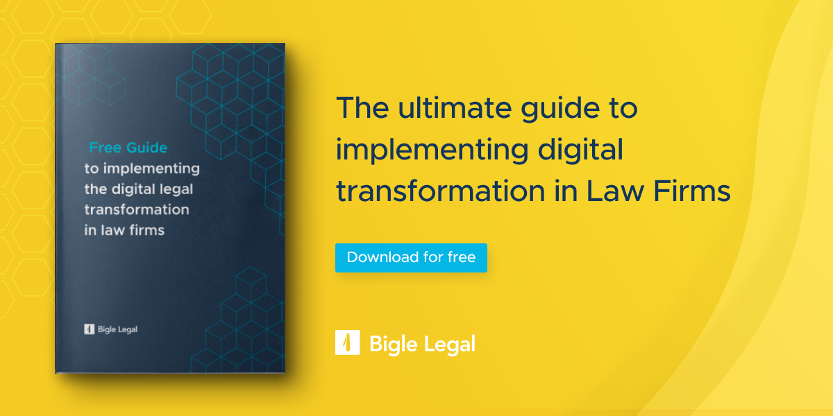 Bigle Legal - Digital transformation E book