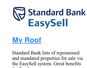 Easy Sell Standard Bank