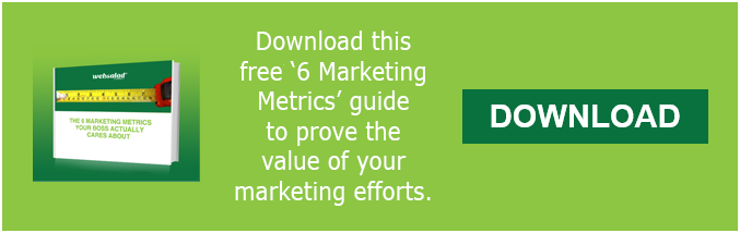 6 Marketing Metrics guide
