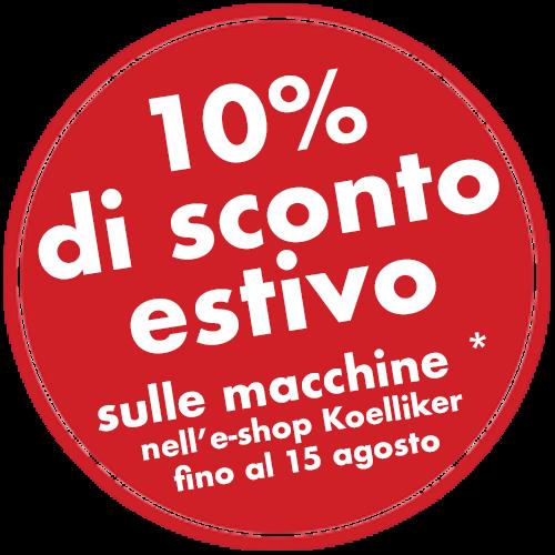 KOELLIKER E-Shop Promozione estiva 2019