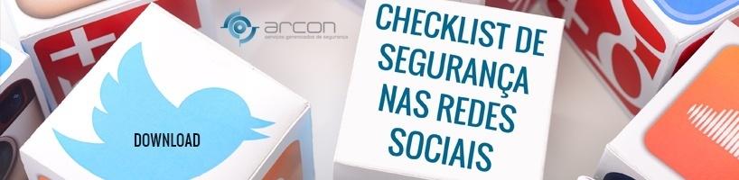 Checklist de Segurança nas Redes Sociais